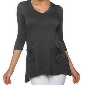 3/$25 LOGO Lori Goldstein Top Size XS x142/N